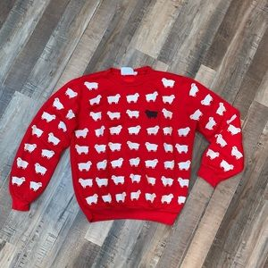 Vintage Scarab SF Black Sheep Crewneck Sweater